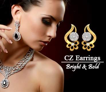 Bright & Bold Cz Earrings